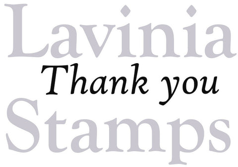 Lavinia Stamps - Words and Verses - Thank You