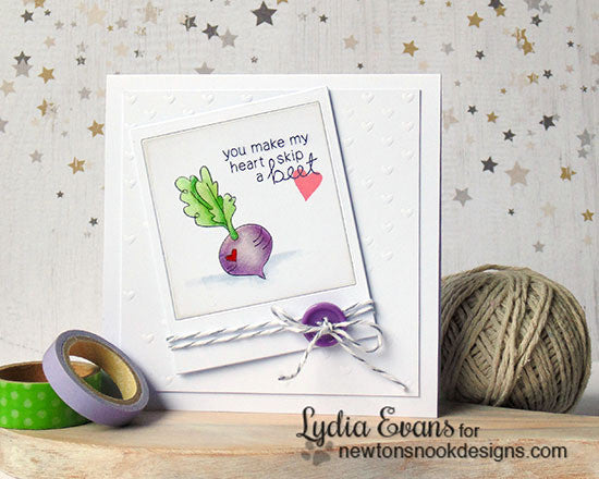 "Newton's Nook Designs - 4"" x 6"" Clear Stamps - Vegetable Medley"