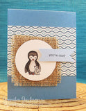 "Newton's Nook Designs - 4"" x 6"" Clear Stamps - Wild Child"