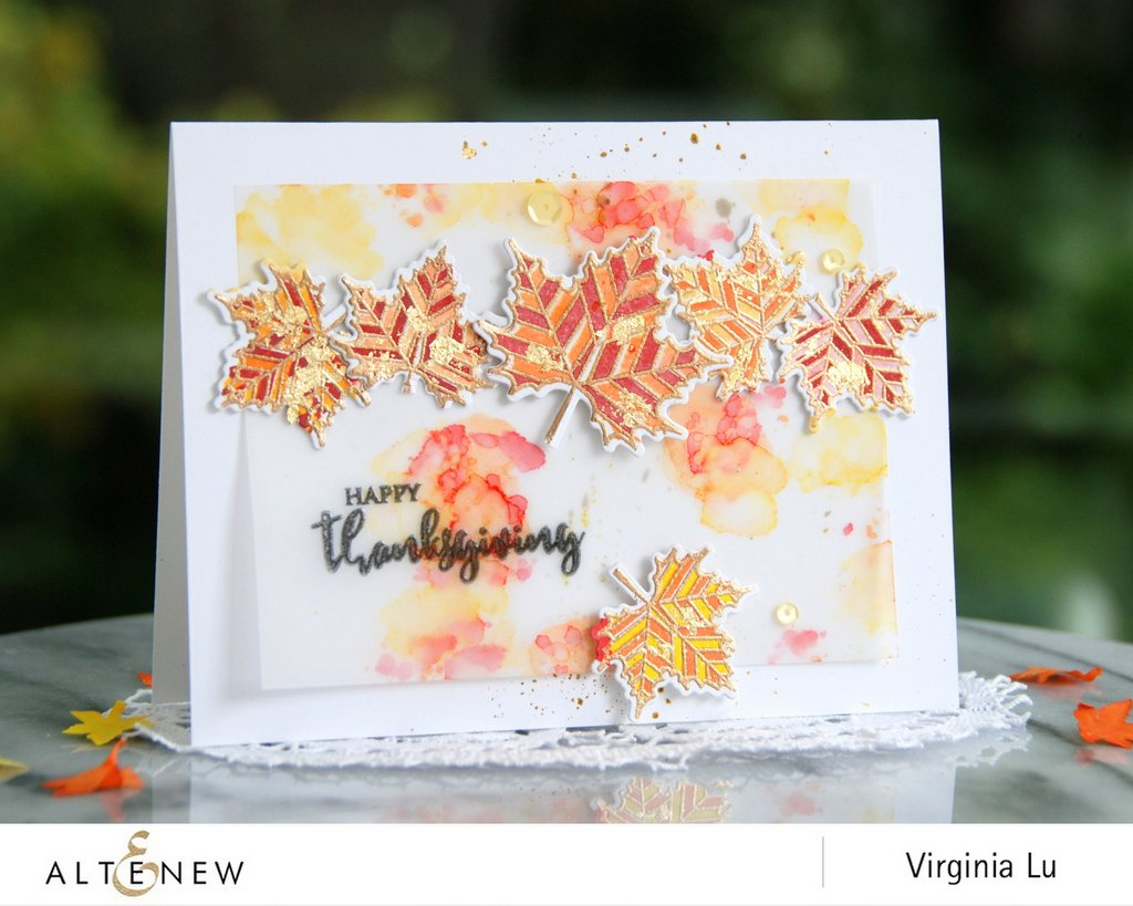 Altenew With Gratitude Stamp Set