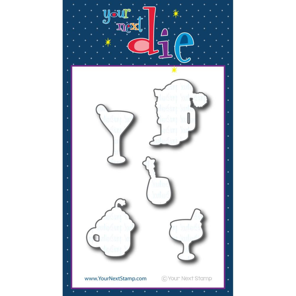 Your Next Stamp Die - Holiday Cheers