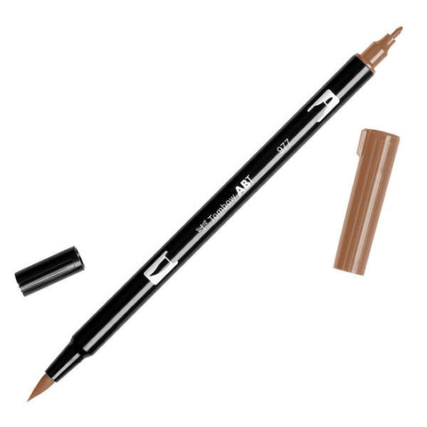 Tombow Dual Brush Pen - Saddle Brown #977