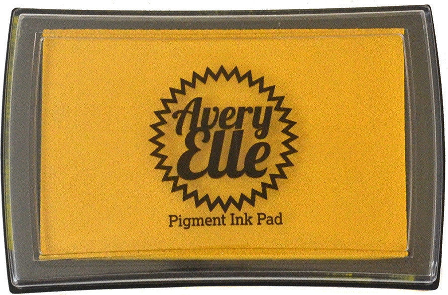 "Avery Elle Pigment Ink Pad - Mustard Seed  3 1/2"" x 2 1/2"""