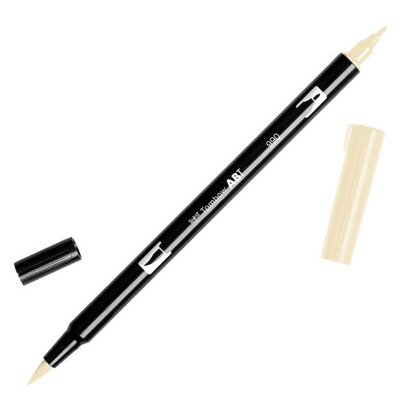 Tombow Dual Brush Pen - Light Sand #990