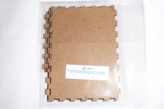 Fernli Designs Dimensional Wood  ATC (6mm height)