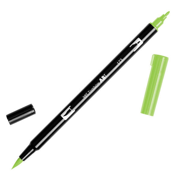 Tombow Dual Brush Pen - Willow Green #173