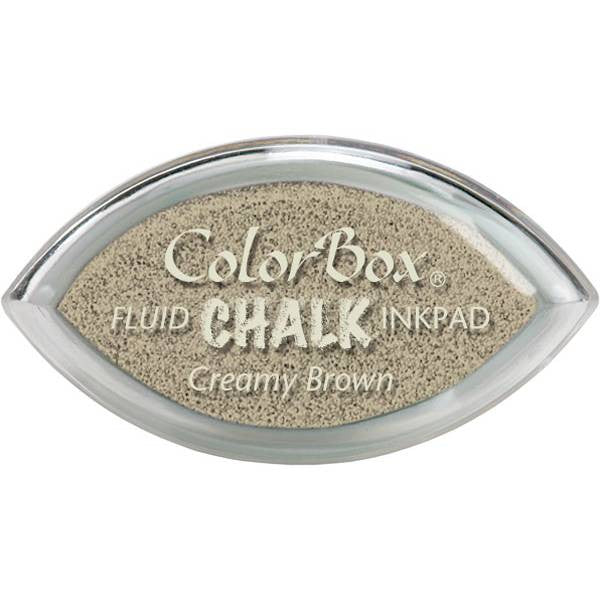 Clearsnap ColorBox Fluid Chalk Cat's Eye Ink Pad - Creamy Brown