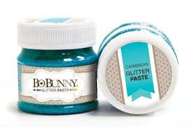 BoBunny Double Dot Glitter Paste- Caribbean