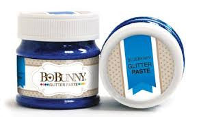 BoBunny Double Dot Glitter Paste- Blueberry