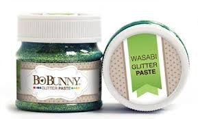 BoBunny Double Dot Glitter Paste- Wasabi
