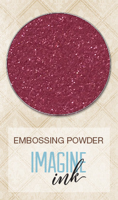 Blue Fern Studios - Imagine Ink Embossing Powder - Garnet