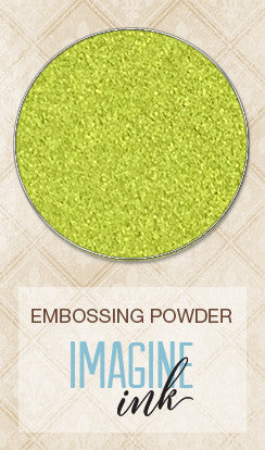 Blue Fern Studios - Imagine Ink Embossing Powder - Lime