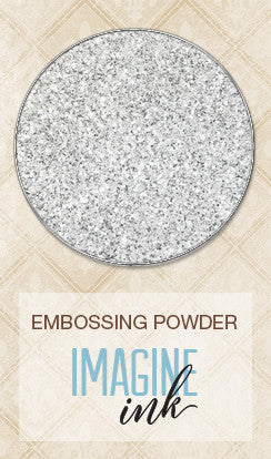 Blue Fern Studios - Imagine Ink Embossing Powder - Icicle