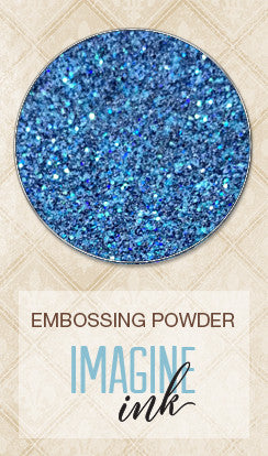 Blue Fern Studios - Imagine Ink Embossing Powder - Stormy Seas