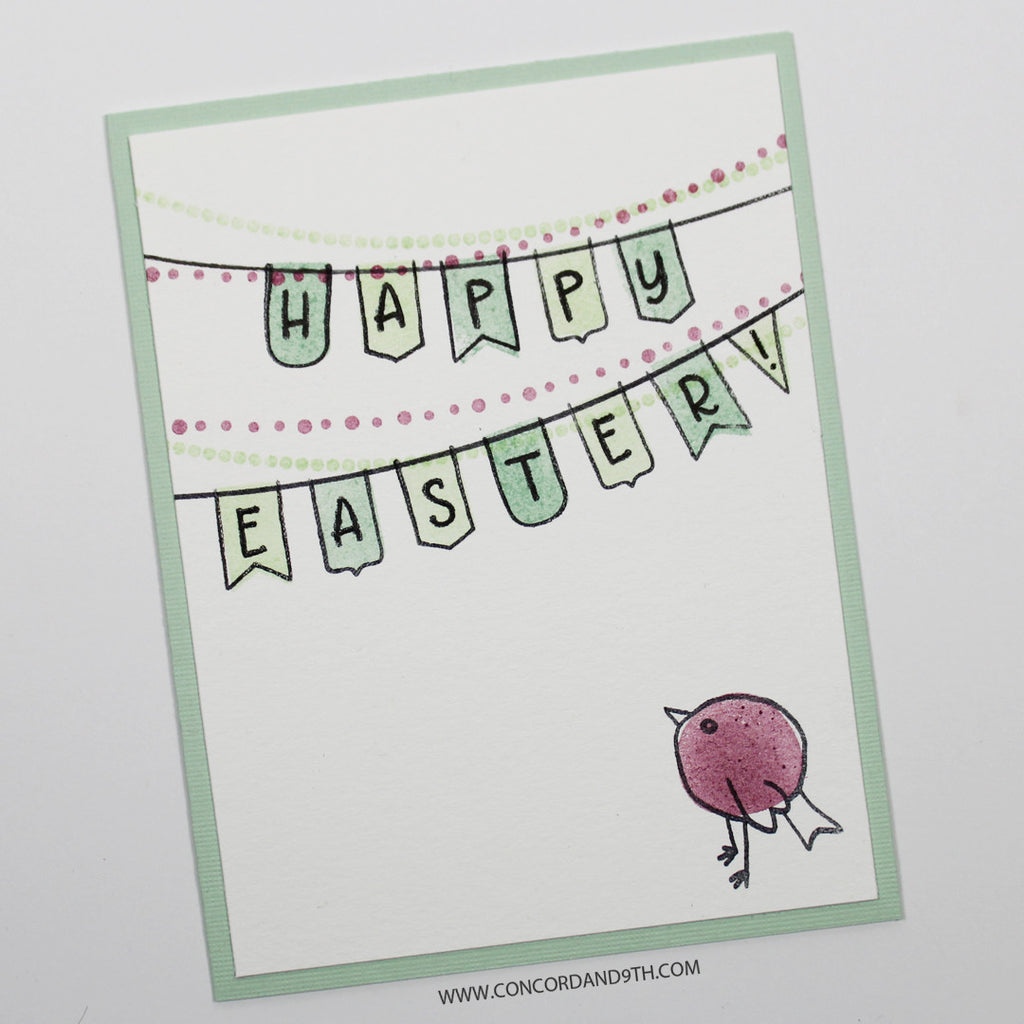 Concord & 9th - 4x8 Stamp Set - Birdie Banners