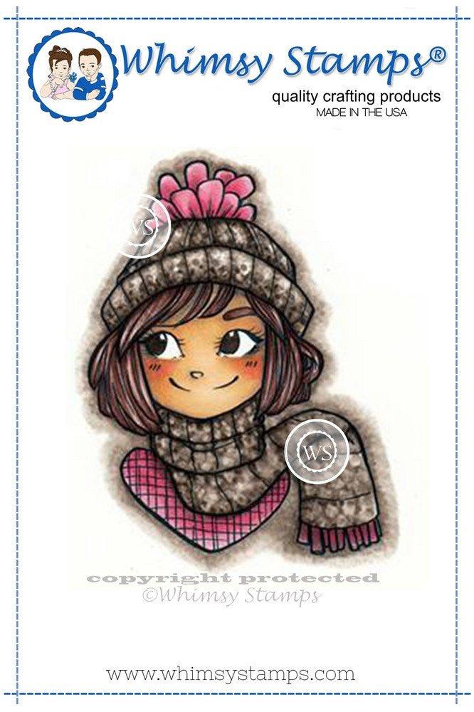 Available 2/11-Whimsy Stamps -Bundled Up Stamp Set
