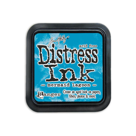 Ranger Tim Holtz Distress Ink Pad - March Color of the Month - Mermaid Lagoon