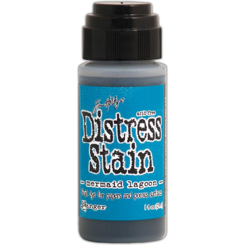 Ranger Tim Holtz Distress Stain 1oz - March Color of the Month - Mermaid Lagoon
