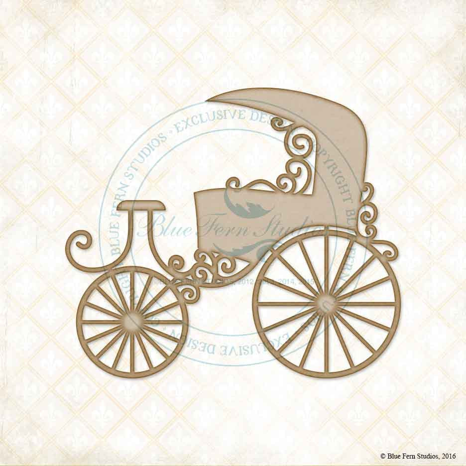 Blue Fern Studios - Chipboard - Carriage