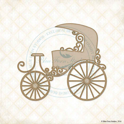 ***New Item*** Blue Fern Studios - Chipboard - Carriage