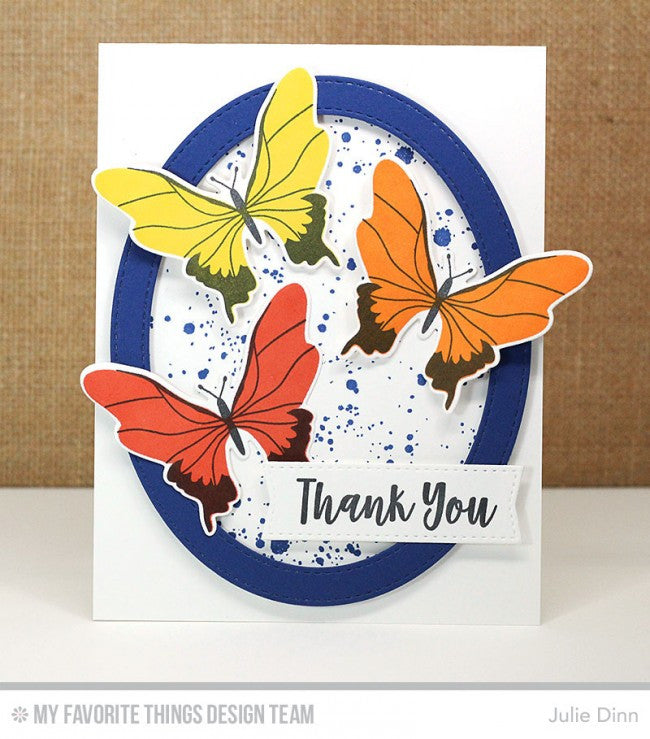 My Favorite Things - Clear Stamp Set - You Give Me Butterflies