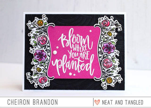 Neat & Tangled - Nice & Neat Dies - Bloom