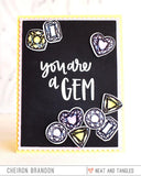 Neat & Tangled - Nice & Neat Dies - You're A Gem