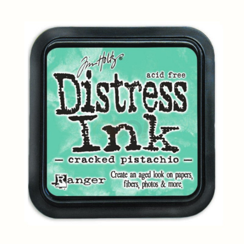 Ranger Tim Holtz Distress Mini Ink Pad CRACKED PISTACHIO