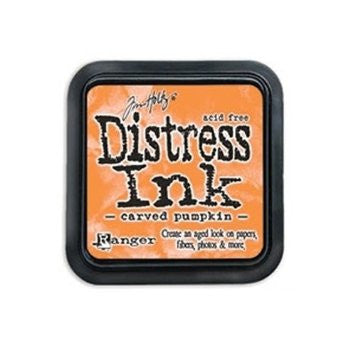 ***New Item*** Tim Holtz Distress Mini Ink Pad CARVED PUMPKIN Ranger
