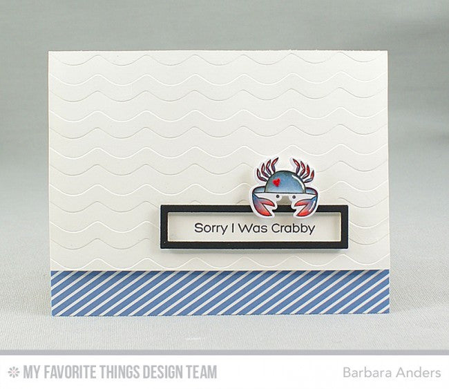 My Favorite Things - Clear Stamp Set - Ocean Pals