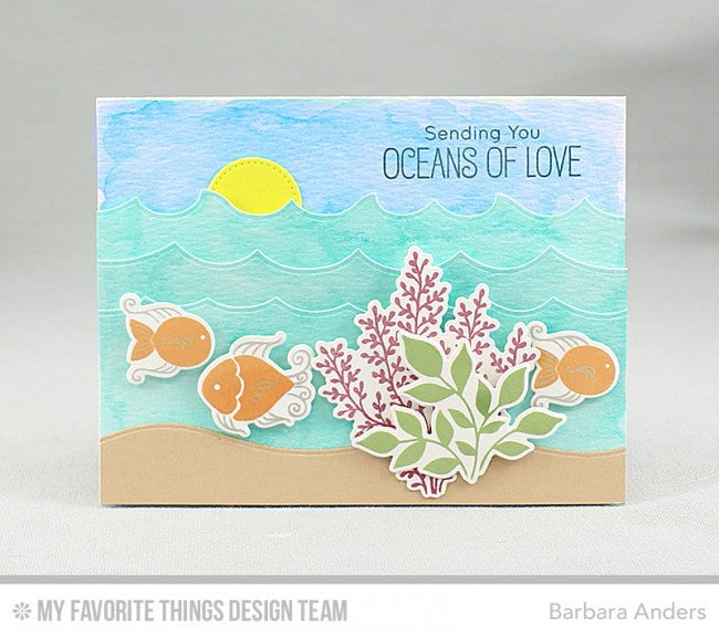 My Favorite Things - Die-Namics - Exquisite Ocean