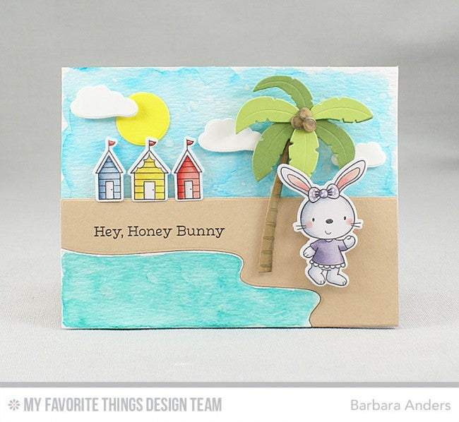 My Favorite Things - Clear Stamp Set - Beach Bunnies
