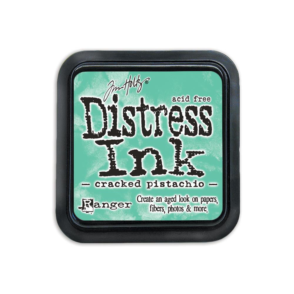 Ranger Tim Holtz Distress Ink Pad - January Color of the Month! - Cracked Pistachio