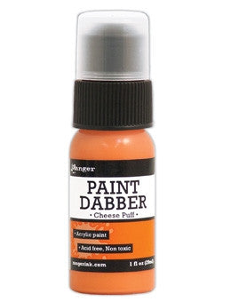 Ranger Acrylic Paint Dabber 1oz - Cheese Puff