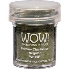 WOW Embossing Powder 15ml - Chartreuse