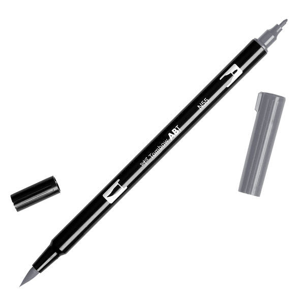 Tombow Dual Brush Pen - Cool Gray 7 #N55