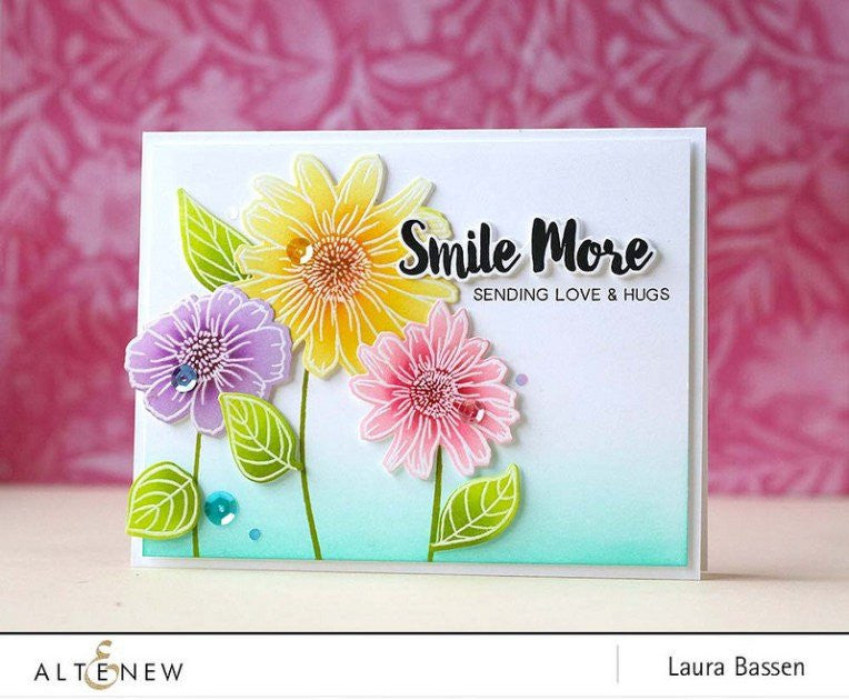 "Altenew - 6"" x 8"" Stamp Set - Smile More"