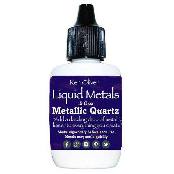 Ken Oliver Liquid Metals - Metallic Quartz