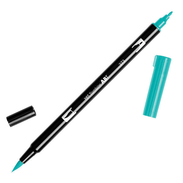 Tombow Dual Brush Pen - Sea Blue #373