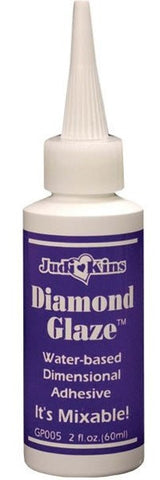Judikins - Diamond Glaze Dimensional Adhesive - 2oz bottle