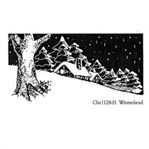 Clarity Stamp -  Unmounted Clear Stamp - Winterland