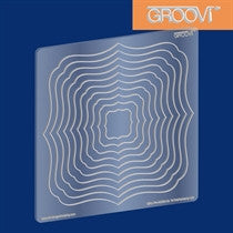 Clarity Stamp -  GROOVI A5 Plate - Classic Frame Nested Groovi Plate