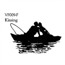 Clarity Stamp -  Unmounted Clear Stamp - Kissing Couple
