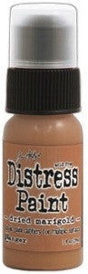 Ranger Tim Holtz Distress Paint 1oz Bottle - Dried Marigold