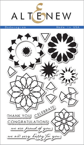 Altenew - Dodecagram Stamp Set