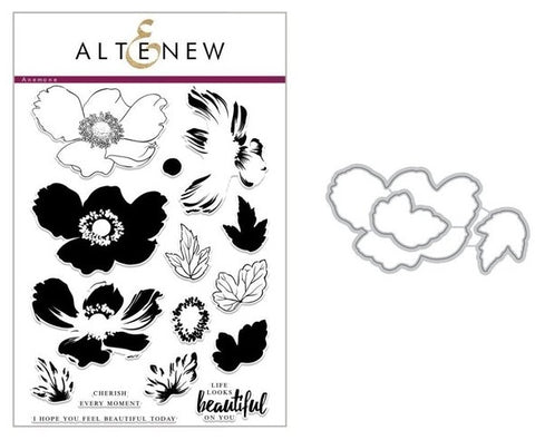 Altenew - Stamp & Die Set - Build-A-Flower: Anemone