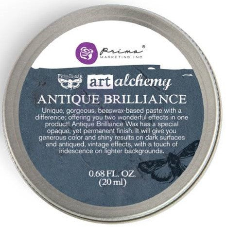 Prima Marketing - Finnabair Art Alchemy Antique Brilliance Wax - Mystic Turquoise