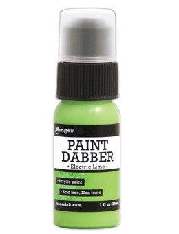 Ranger Acrylic Paint Dabber 1oz - Electric Lime