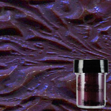 Lindy's Stamp Gang Embossing Powder - Royal Burgundy Blue