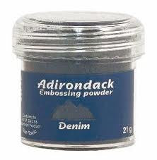 Adirondack - Embossing Powder - Denim